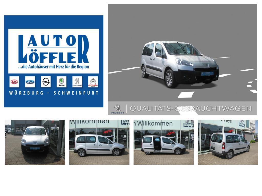 Peugeot Partner Tepee HDi 90 1.6, Jahr 2013, Diesel