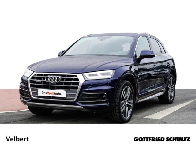 Audi Q5 2.0 TFSI S-TRONIC NAVI LED LEDER HUD SHZ PDC, Jahr 2018, Benzin