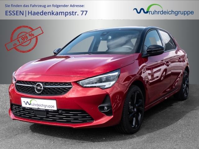 Opel Corsa F GS Line 1.2 KLIMAAUT LED PDC SHZ LHZ, Jahr 2020, Benzin