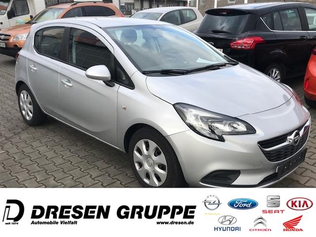 Opel Corsa E VOLL-AUTOMATIK-5türig-1.4i/Servo+ZV+BC KLIMA+ELFH/Colorglas/RadioCD+USB/Isofix/ESP, Jahr 2016, Benzin