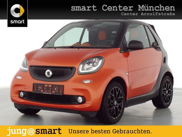 smart fortwo cabrio 66kW passion DCT cool&Audio SHZ LED, Jahr 2019, Benzin
