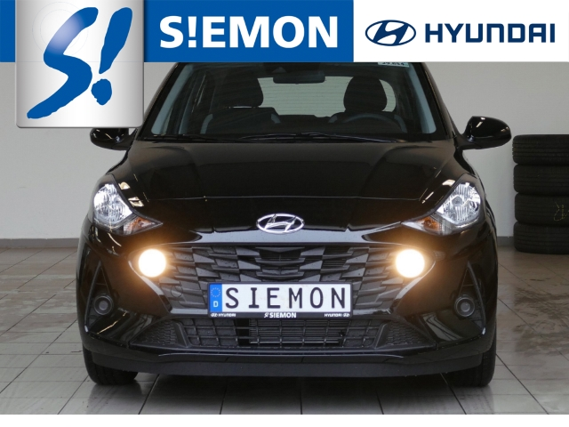 Hyundai i10 NEW 1.0 Select Funkion DAB+ Bluet. SHZ E Call, Jahr 2021, Benzin