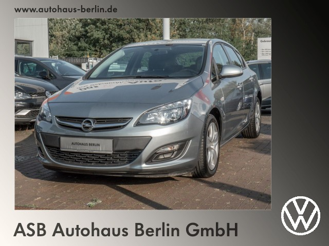 Opel Astra J 1.4 Turbo Energy ecoFlex PDC SHZ, Jahr 2014, Benzin