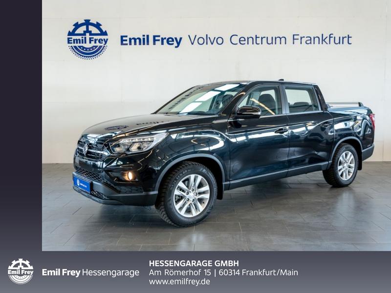 Ssangyong Musso 4WD Quartz Navi AHK 18'' Kamera PDCv+h, Jahr 2020, Diesel
