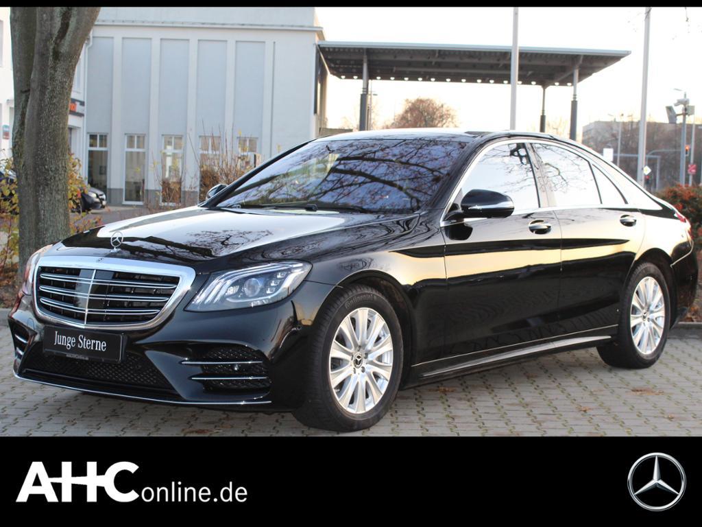 Mercedes-Benz S 560 4M AMG+SITZKLIMA+COMAND+HUD+DISTRONIC+LED, Jahr 2018, petrol