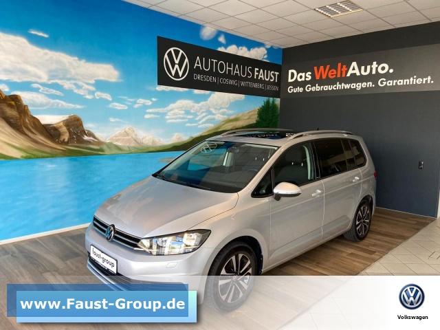 Volkswagen Touran United UPE 41345EUR NAVI AHK DACH 7-SITZER, Jahr 2020, Diesel