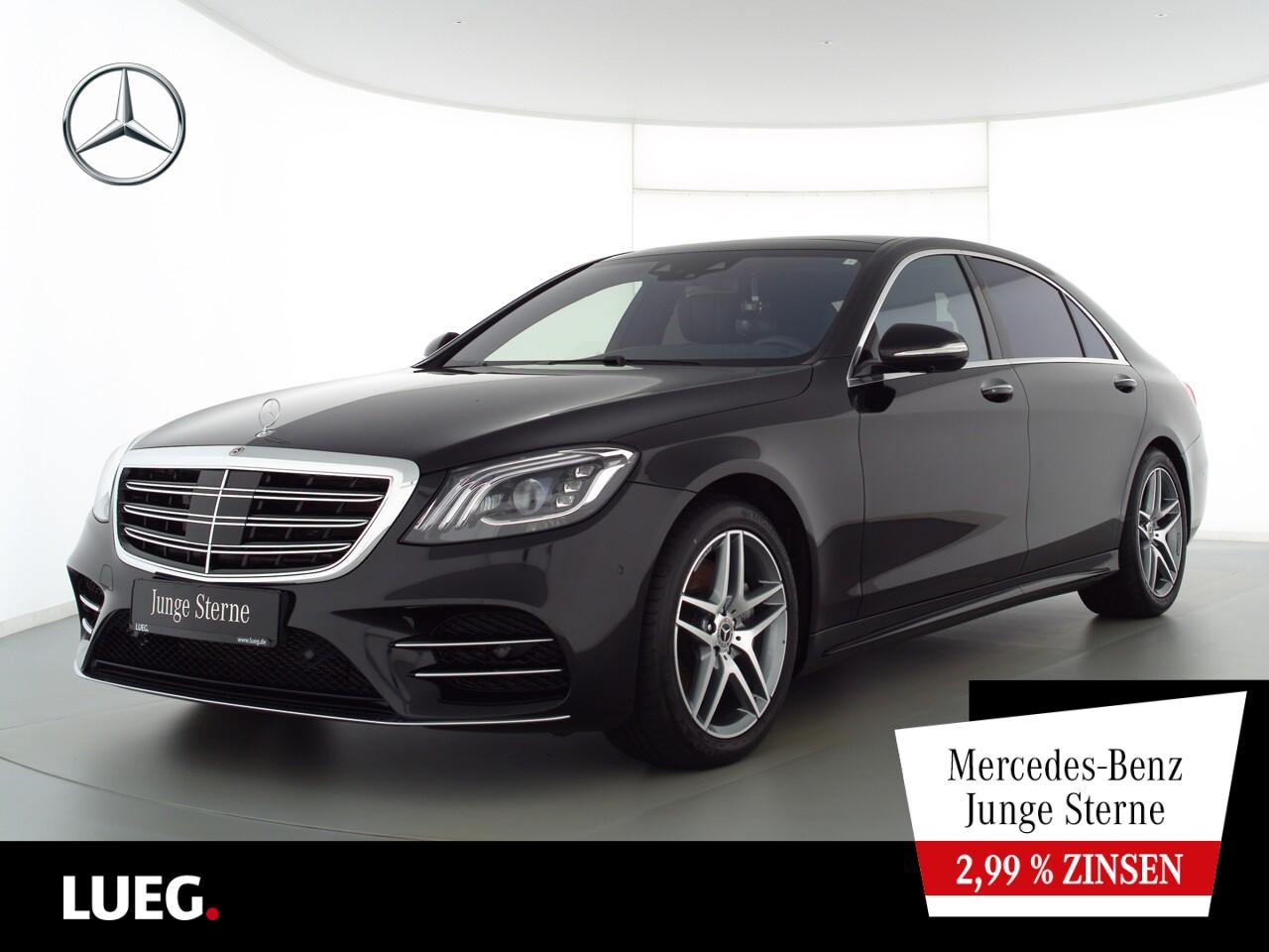 Mercedes-Benz S 500 L AMG+Sitzklima+Fond-tv+Designo+Burmester, Jahr 2020, Benzin