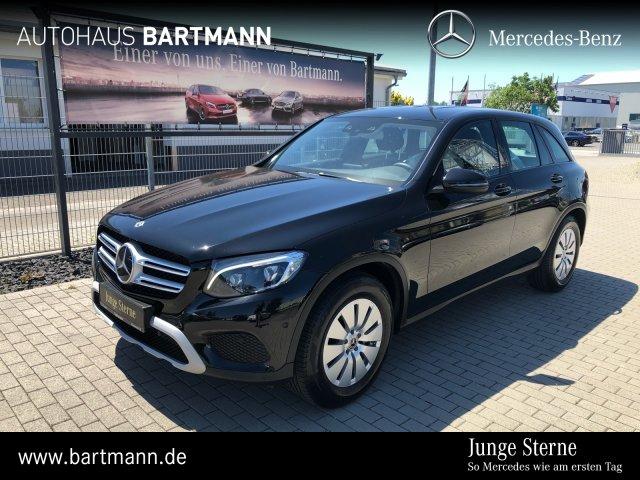 Mercedes-Benz GLC 220 d 4M DISTRONIC+SPUR+ TOTW+LED-ILS+SZH+PT, Jahr 2017, Diesel