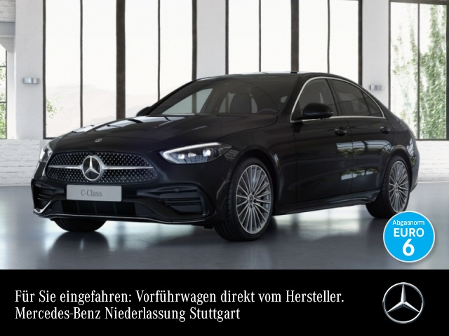 Mercedes-Benz C 220 d AMG Kamera Spurhalt-Ass Totwinkel PTS 9G, Jahr 2021, Diesel