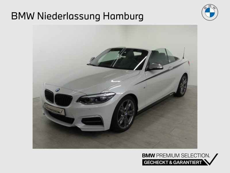 BMW M240i xDrive Cabrio M Sportbr. HK HiFi DAB LED, Jahr 2018, Benzin