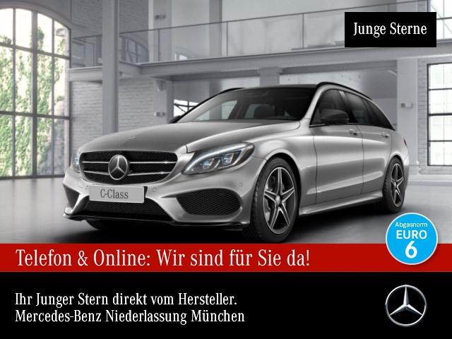 Mercedes-Benz C 400 T 4M AMG 360° Stdhzg Pano Distr+ COMAND PTS, Jahr 2016, Benzin