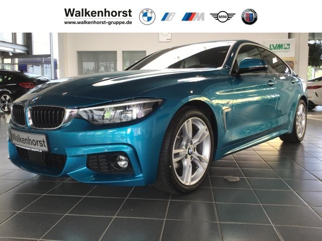 BMW 420 Gran Coupe i M Sport Leasing ab 369,-- Navi Leder HUD LED Temp Klima PDC, Jahr 2020, Benzin
