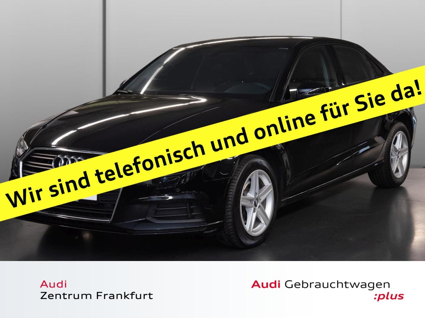 Audi A3 Limousine 1.6 TDI S tronic Navi Xenon PDC Sit, Jahr 2017, Diesel