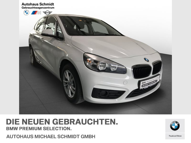 BMW 216i ACTIVE GUARD+REGENSENSOR+PERFORMANCE CONTROL+, Jahr 2017, Benzin