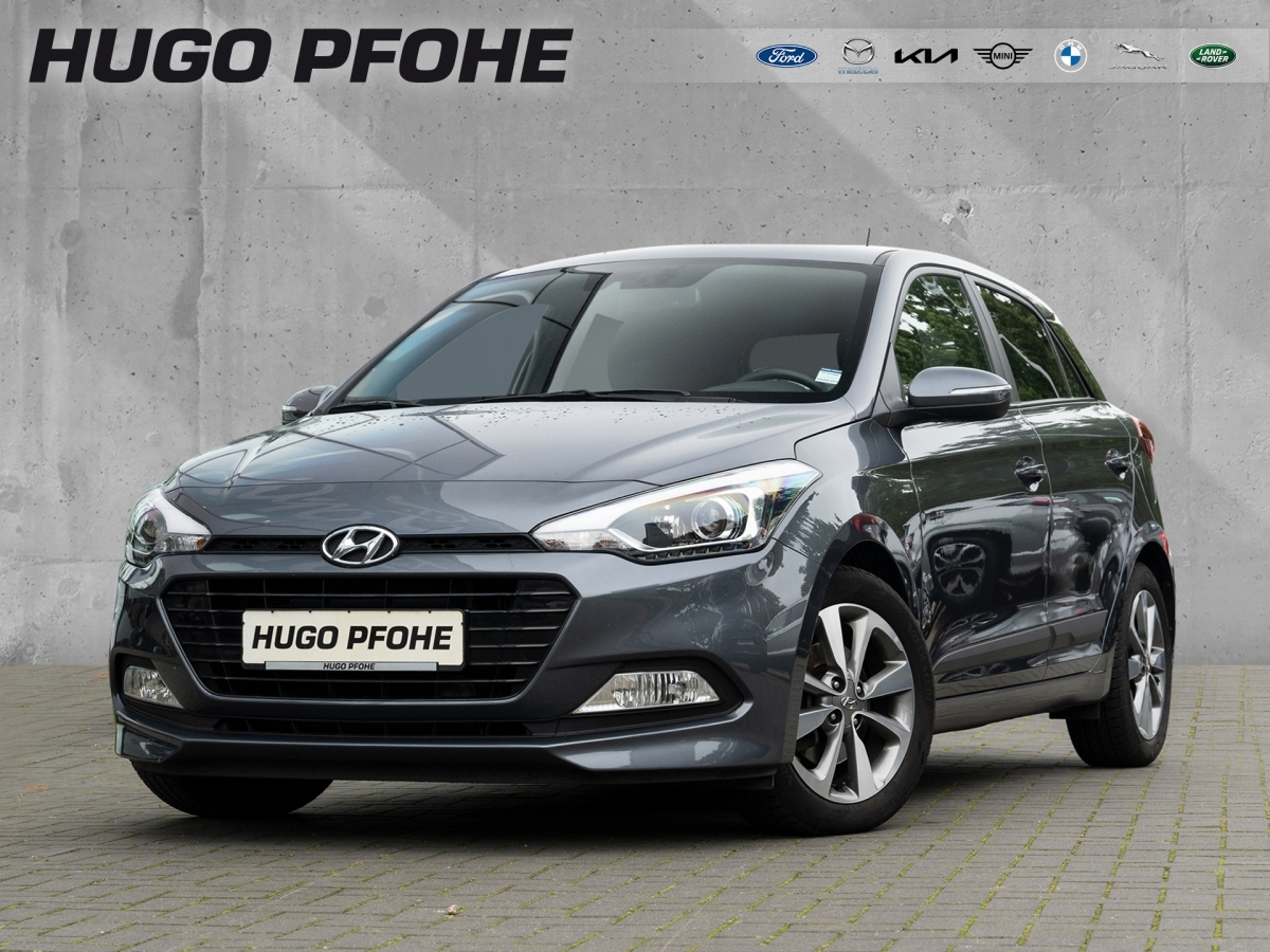 Hyundai i20 Passion blue 1.0 T-GDI, Jahr 2016, Benzin