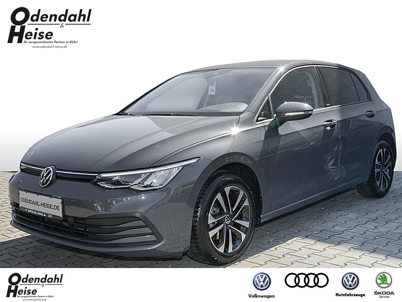 Volkswagen Golf VIII Life 1,5 l eTSI 110 kW 7-Gang DSG United, Jahr 2020, Benzin