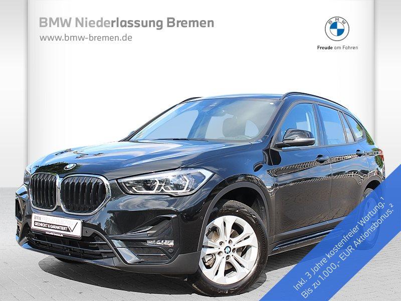 BMW X1 sDrive18d Sport Line LED RFK Navi RTTI AHK, Jahr 2020, Diesel