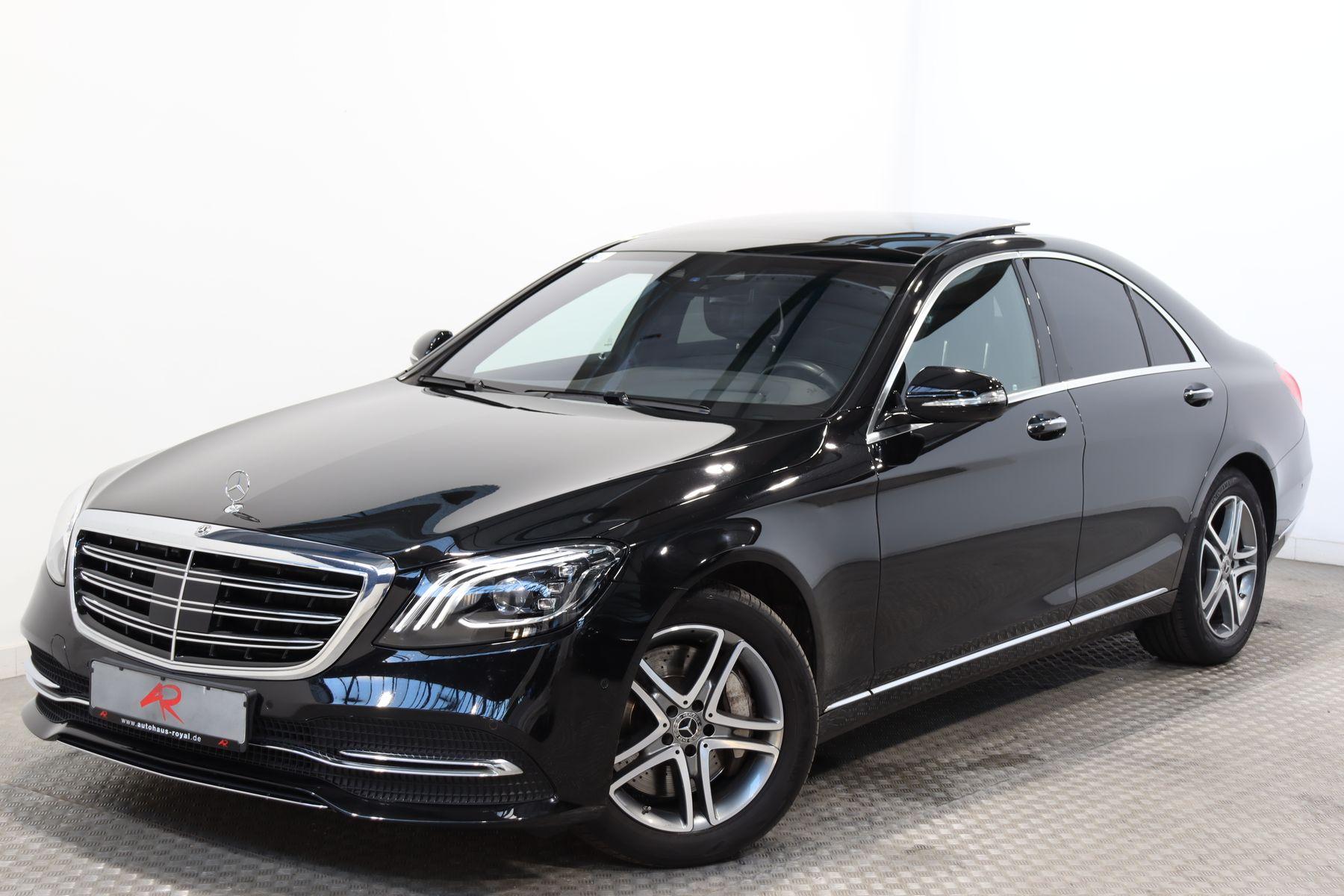 Mercedes-Benz S 400 d 4M HUD,BURMESTER,KEYLESS,DISTRO,STANDHZ., Jahr 2018, Diesel