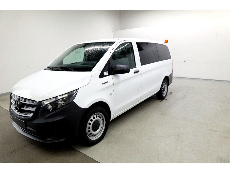 Mercedes-Benz eVito 111 Pro lang 9 Sitze*Kamera*Klima*Sitzheiz, Jahr 2019, Elektro