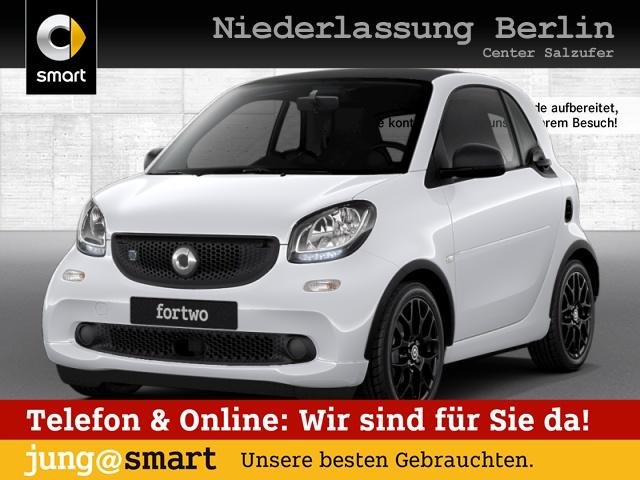 smart fortwo coupé 60kWed prime Sport SHZ PDC JBL Navi, Jahr 2017, Elektro
