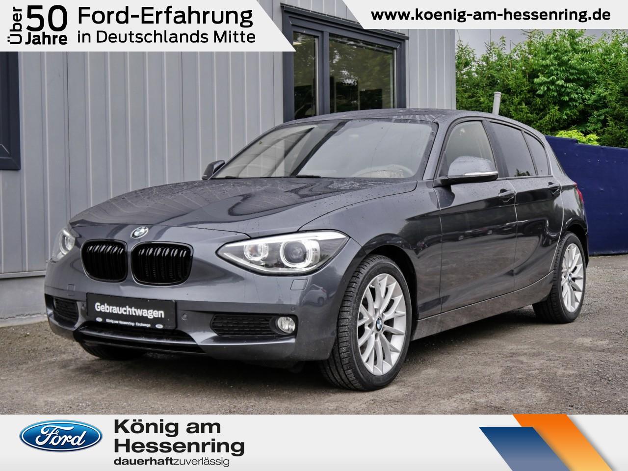 BMW 125i Aut.AHK+NAVI+Xenon+ParkAssistent+Klimaautom, Jahr 2014, Benzin