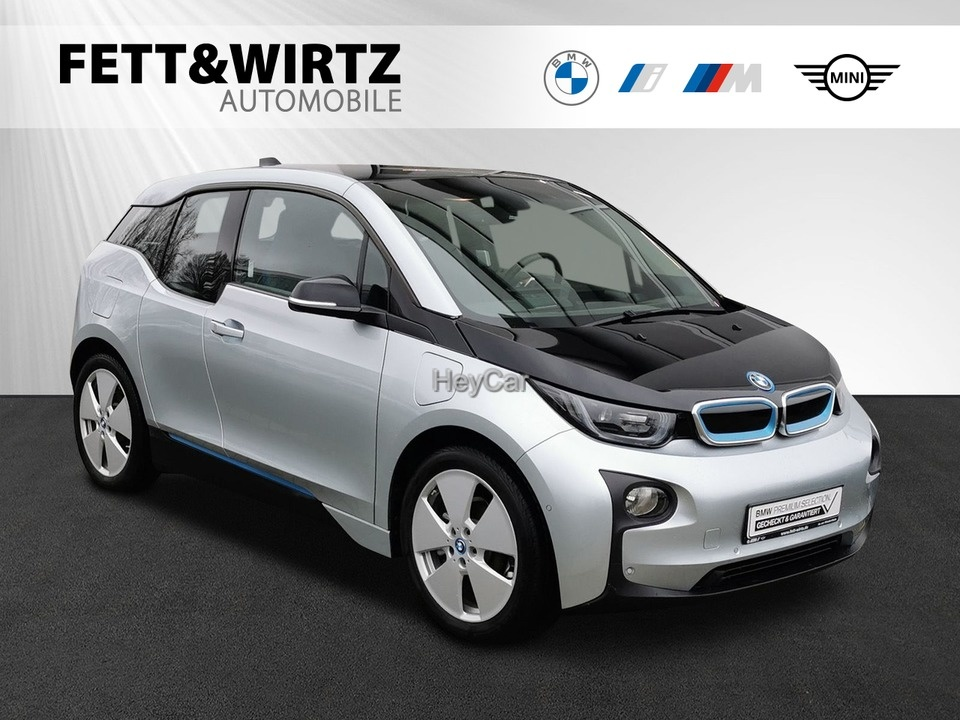 BMW i3 94Ah REX NaviProf. LED PA Kamera Schnellladen, Jahr 2017, Elektro