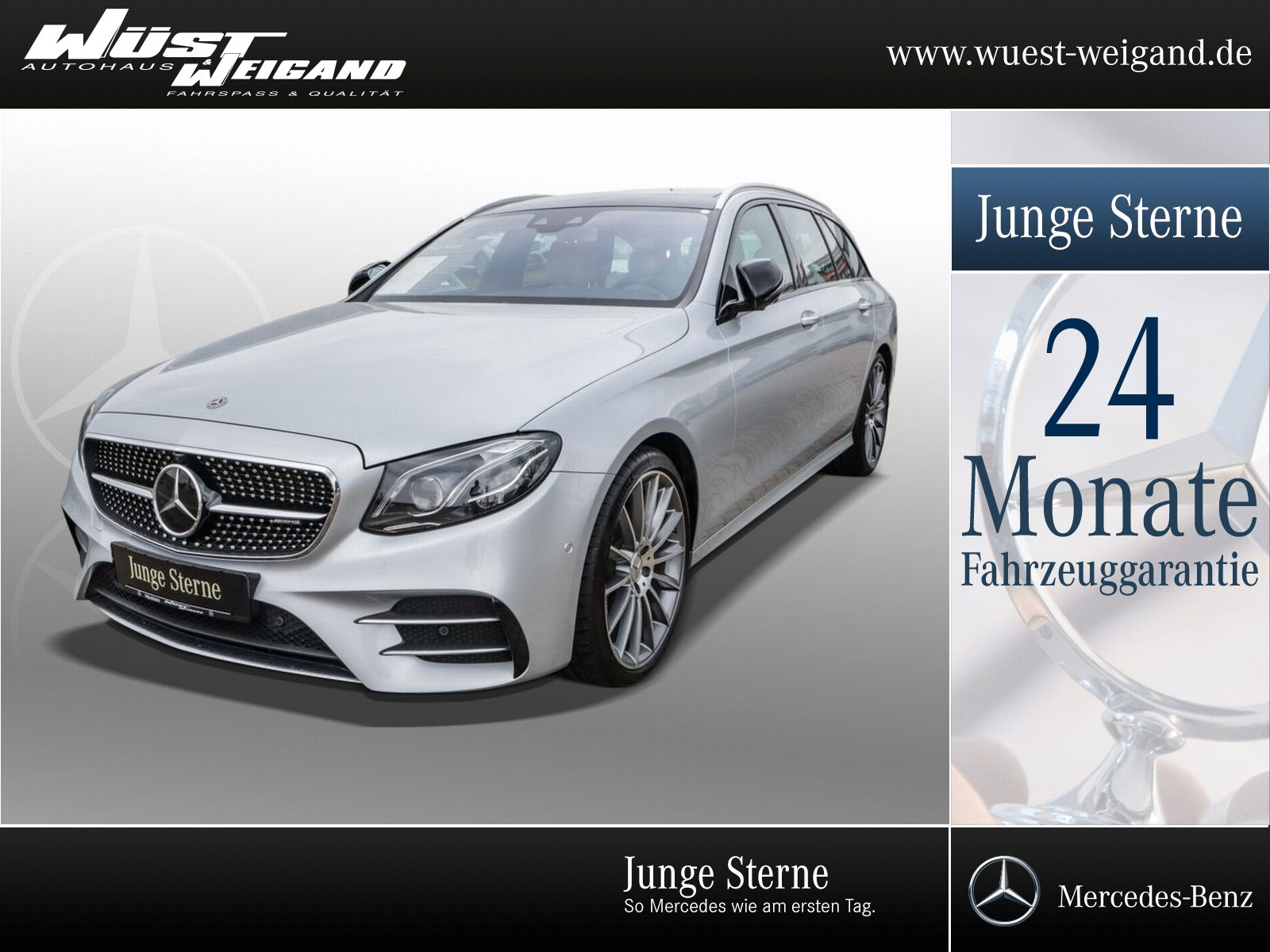 Mercedes-Benz E 43 AMG 4M T Pano+Comand+Kamera+Memory+Kamera, Jahr 2017, Benzin