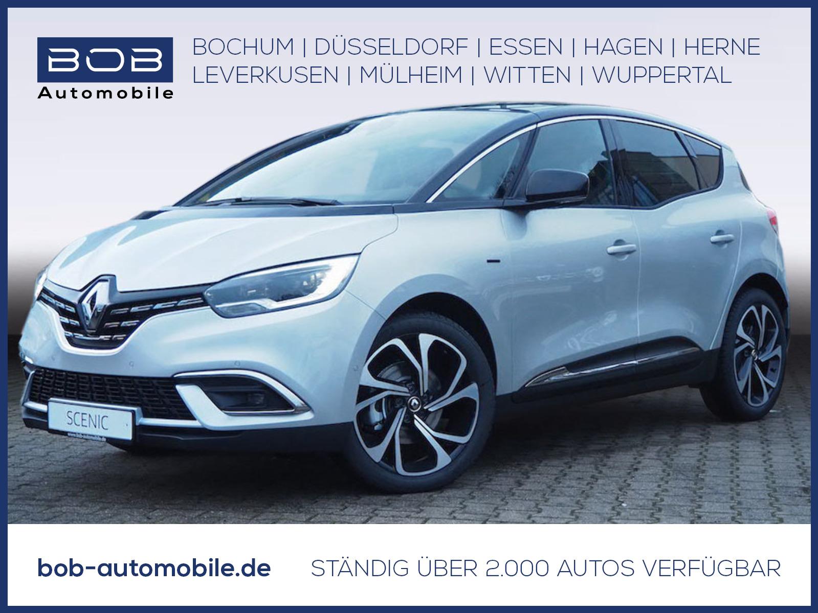 Renault Scenic BLACK Edition TCe 140 EDC GPF NAVI SHZ, Jahr 2021, Benzin