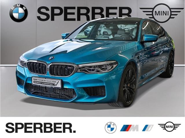 BMW M5 M-TrackPack,Bowers&Wilkins,NaviPro,360Kamera,Driv.Ass+,M-SportabGas,Softcl,LED,Massage,uvm, Jahr 2018, Benzin