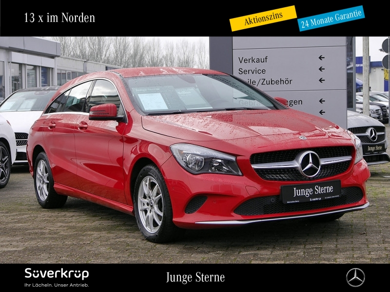 Mercedes-Benz CLA 180 d SB Navi PDC SHZ Tempomat, Jahr 2017, Diesel