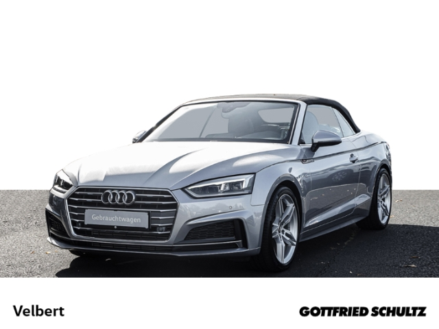 Audi A5 CABRIOLET 2.0 TFSI SPORT S-TRONIC NAVi SHZ PDC, Jahr 2018, Benzin