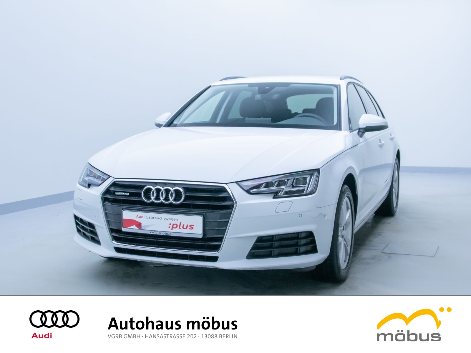 Audi A4 Avant 40 TDI QU*S-TRO*GRA*LED*NAV*AMBI, Jahr 2019, Diesel