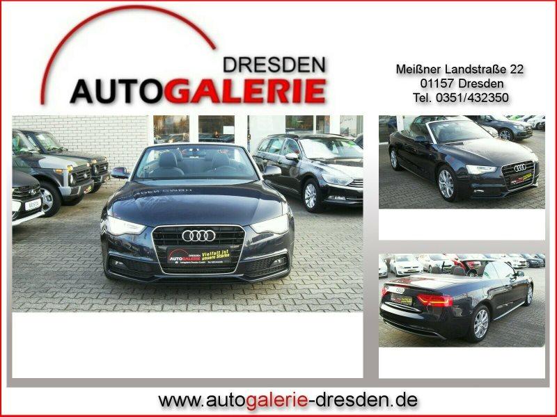 Audi A5 Cabrio 2.0 TDI DPF *Bi-Xenon*PDC*Bordcomputer, Jahr 2014, Diesel