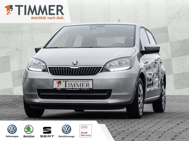 Skoda Citigo 1.0 Ambition (Euro 6)*KLIMA*PDC*GRA*, Jahr 2017, Benzin