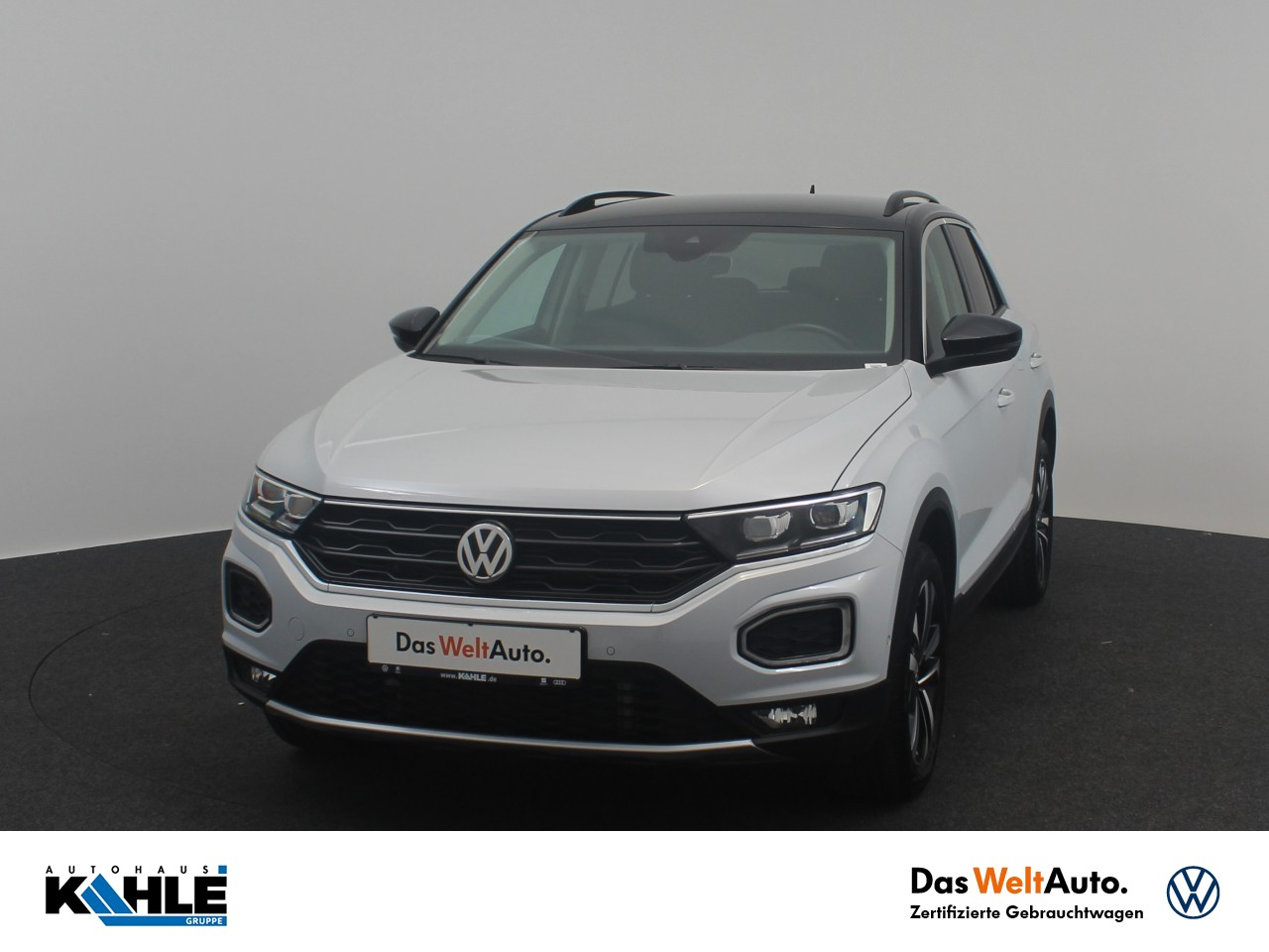 Volkswagen T-Roc 1.5 TSI United Navi LED Dachreling Klima ACC, Jahr 2020, Benzin
