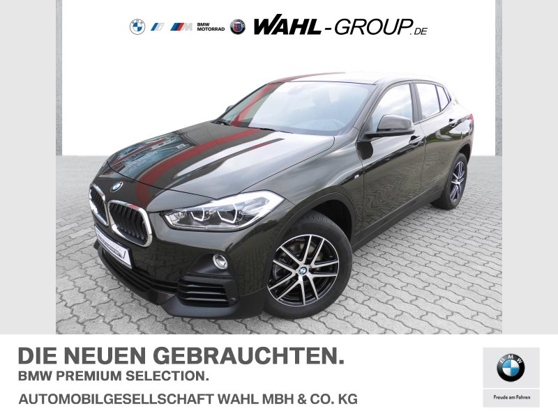 BMW X2 sDrive18i Advantage Automatik   LED Navi AHK, Jahr 2018, Benzin