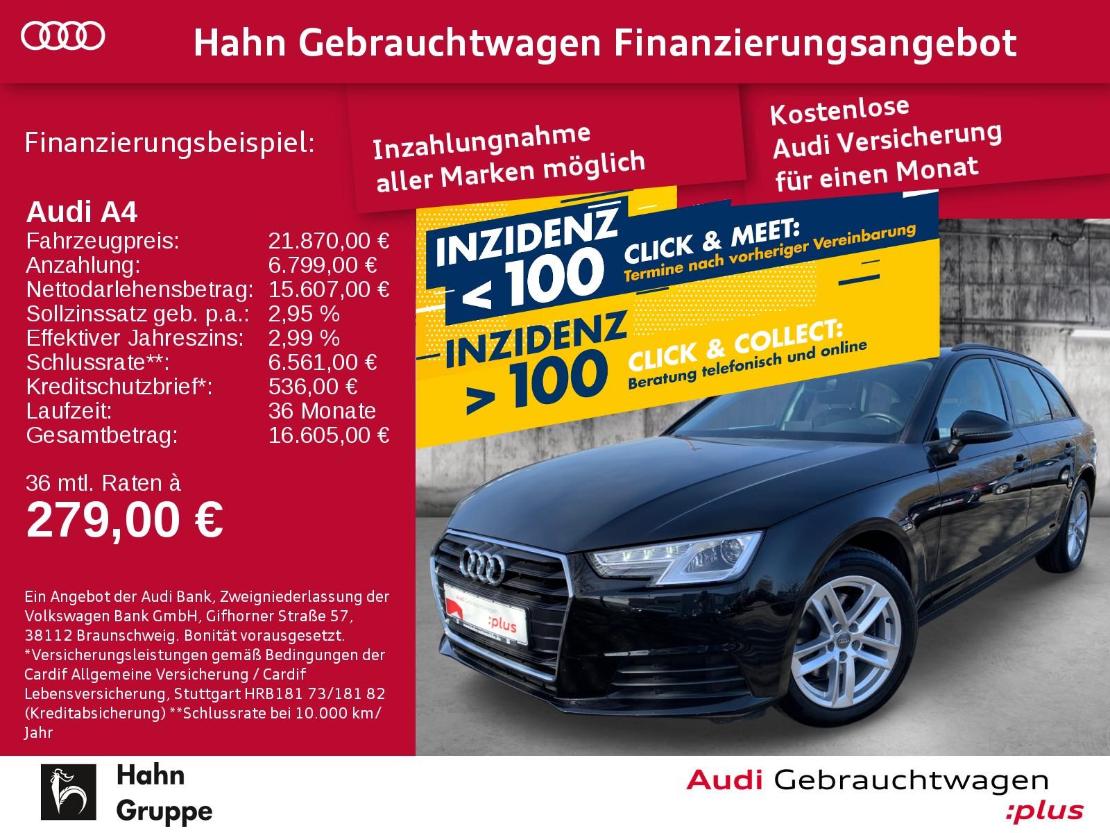 Audi A4 Avant 2.0TDI S-tr Navi Xen Sitzh Pano Einpark, Jahr 2017, Diesel
