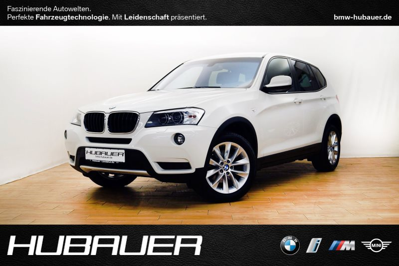 BMW X3 xDrive20d A [Navi, Xenon, SHZ, inkl. WKR], Jahr 2013, diesel