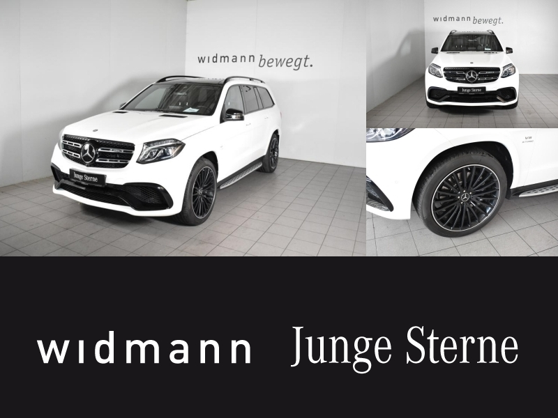Mercedes-Benz GLS 63 AMG 4M *Comand*Panorama*360-Kamera*AHK*, Jahr 2016, petrol
