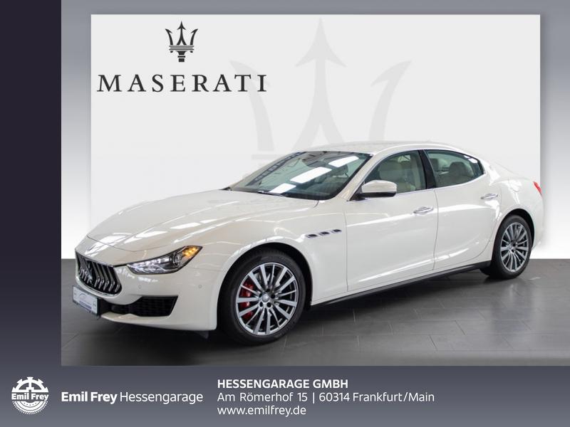 Maserati Ghibli Aut. Navi Xenon DAB 19'' Rückfahrkamera, Jahr 2018, Benzin