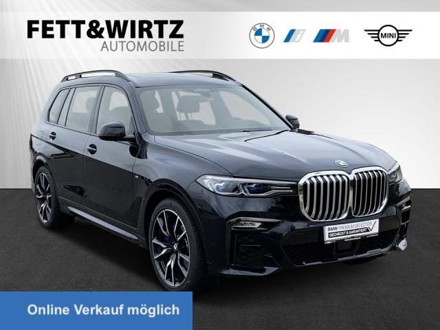 BMW X7 xDrive40i M-Sport Laser Standh AHK TV H/K 22'', Jahr 2019, Benzin