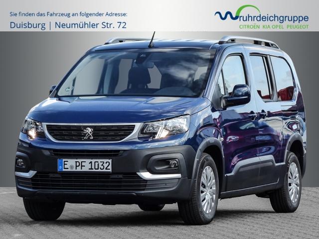 Peugeot Rifter ACT L2 PT110,CD WECHSLER,RESERVERAD ALU,GEPAECKRAUMNETZ,DACHRELING,KLIMA, Lederlenk, Jahr 2020, Benzin