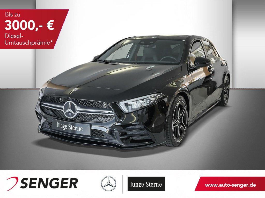 Mercedes-Benz Mercedes-AMG A 35 4M+NIGHT+NAVI+PANO+KAMERA+LED+, Jahr 2019, Benzin