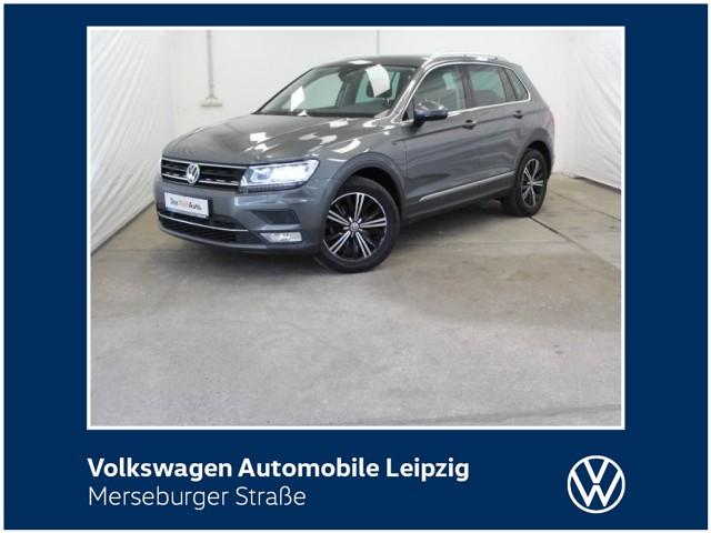 Volkswagen Tiguan 2.0 TDI Highline*AHK*ACC*SHZ*, Jahr 2017, Diesel