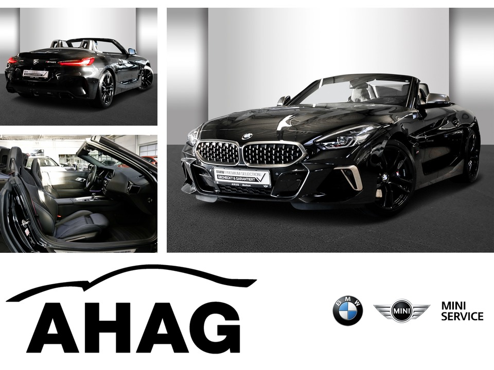 BMW Z4 M40i Cabrio Innovationsp. Sport Aut. Head-Up, Jahr 2018, petrol