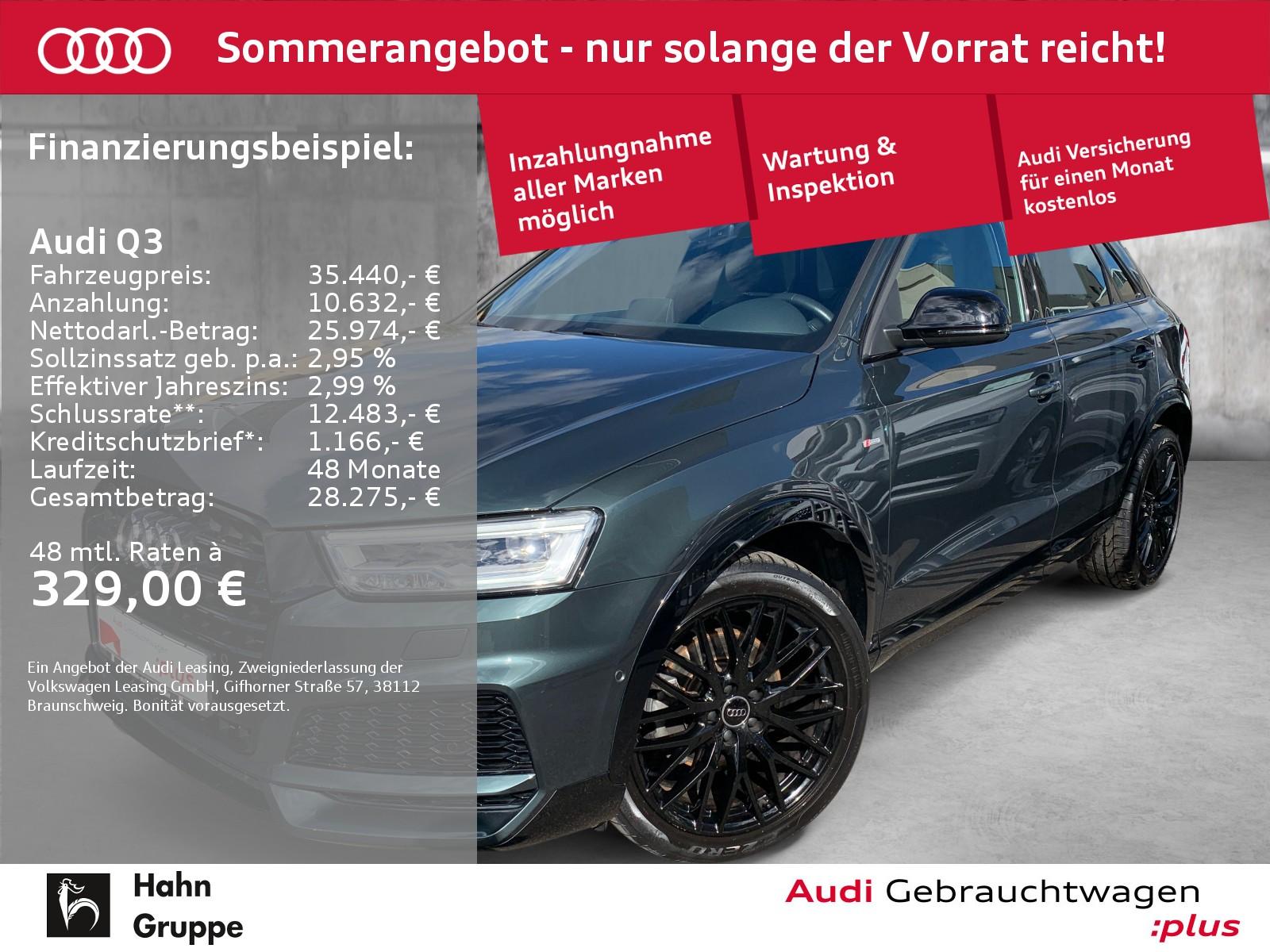 Audi Q3 2.0 TFSI S-trc S-line Navi LED Sitzh Einpark, Jahr 2018, Benzin