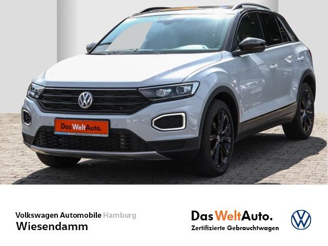Volkswagen T-Roc 2.0 TSI DSG Sport 4M LM Klimaautomatik LED Leder Navi Std.Hzg EGD, Jahr 2020, Benzin