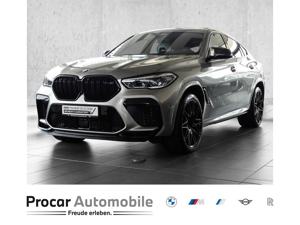 BMW X6 M Competition+M-Drivers Package+Bowers&Wilkins Sound System+BMW Laserlicht+Panorama+22 LMR, Jahr 2020, Benzin