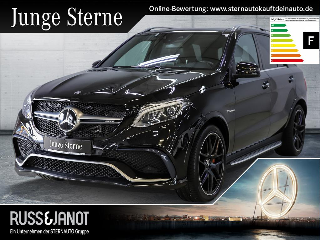 Mercedes-Benz GLE 63 AMG Drivers Package 360° Distronic Pano, Jahr 2016, petrol