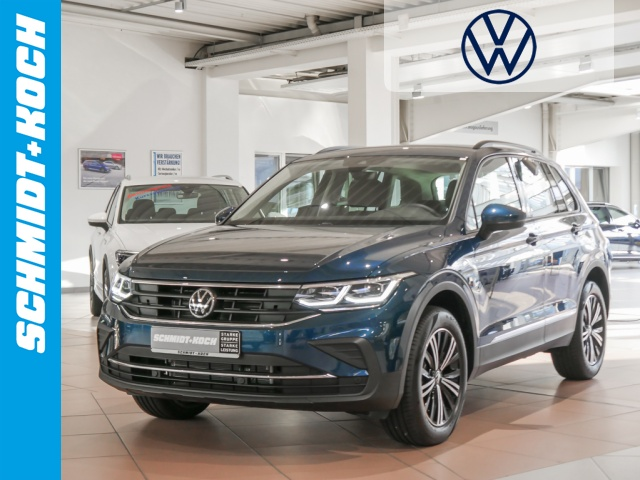Volkswagen Tiguan 2.0 TDI BMT Life DSG, LED, App-Connect, Jahr 2020, Diesel